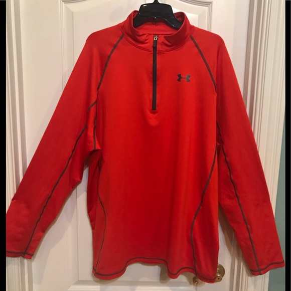Under Armour Shirts Men Loose Cold Gear 14 Zip Pullover Poshmark